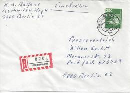 Germany (Berlin) 1982  Industrie Und Technik  (o) Mi.671 Berlin-Berlin 6.7.84 - [5] Berlin