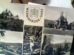 GERMANY  WERNIGERODE HARZ  VUES E SCHLOSS V1960  EW1869 - Wernigerode
