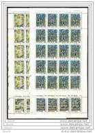 1990 Vaticano Vatican DIOCESI CINA  PEKIN NANKIN DIOCESE 20 Serie Di 4v. In Foglio MNH** Sheet - Nuovi