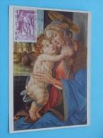 Madonna Met Kind ( Afstempeling Post + Zegel / Timbre - Anno 1974 - Zie Foto Details ) !! - Poste & Facteurs