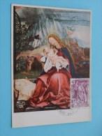 Maria Met Kind - Bruckmanns Bildkarte Nr. 89 ( Afstempeling Post + Zegel / Timbre - Anno 1974 - Zie Foto Details ) !! - Poste & Facteurs