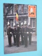 Het Vaandel Van De KONINKLIJKE MILITAIRE SCHOOL ( Afstempeling Post + Zegel / Timbre - Anno 1984 - Zie Foto Details ) !! - Poste & Facteurs