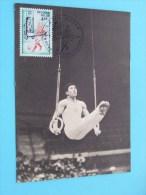 50 Jaar Sportieve Aktiviteit TURNEN ( Afstempeling Post + Zegel / Timbre - Anno 1977 - Zie Foto Details ) !! - Poste & Facteurs
