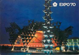 "Japon - Japan - Osaka - Exposition 70 - Toshiba - IHI Pavilion "" Hope-Light And Man "" - Semi Moderne Grand Format - état - Osaka"