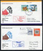 1979 Lufthansa Seychelles Germany Mahe / Frankfurt First Flight Covers X 2 - Seychelles (1976-...)