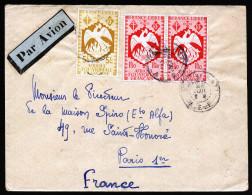 A3172) France Äquatorial Afrika Brief Nach Paris - France (former Colonies & Protectorates)