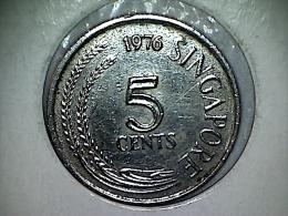 Singapore 5 Cents 1976 - Singapur