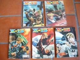 Lot 5 BD  X-13 AGENT SECRET By IMPERIA N° 126-209-314-334-342 - Bücher, Zeitschriften, Comics