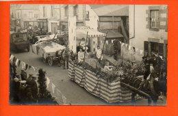 à Identifier - Manifestation - Chars - Fête Année 1929 - A Identifier