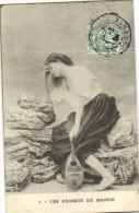 Lot 6 Cartes Serie Complete Les Regrets De Mignon Recto Verso - Women