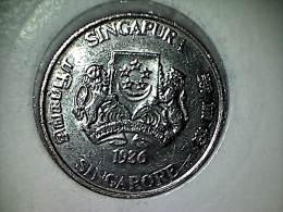 Singapore 20 Cents 1986 - Singapur
