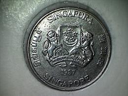 Singapore 20 Cents 1987 - Singapur