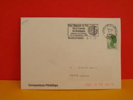Flamme - 88 Vosges, Thaon Les Vosges, Foire Régionale Du Pain ,Vin, Et Fromage - 5.7.1989, SCOTEM - Marcophilie (Lettres)