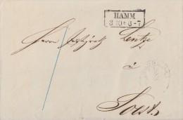 Brief Gelaufen Von Hamm R2 3.10. Nach Soest - Deutschland