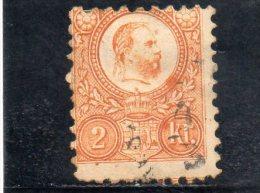 HONGRIE 1871 O GRAVES - Hungary