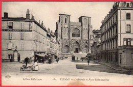 CPA 38 VIENNE Cathédrale Et Place St Maurice - Vienne