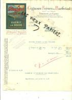 69 - Rhône - DECINES - Facture GIGNOUX & BARBEZAT - Médicament Contre La Douve – 1931 - REF 28G - France