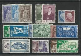 IRLANDE - COLLECTION ENTRE YVERT N° 110 Et 141 ** - COTE = 152 EUROS - Unused Stamps