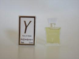 Y - Yves Saint Laurent - Miniatures Modernes (à Partir De 1961)