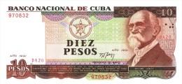 "1991 - 10 PESOS  "" BANCO NACIONAL ""  UNCIRCULATED  ( SIN CIRCULAR ) - Cuba"
