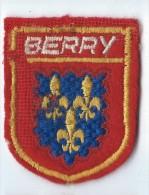 Ecusson Tissu/Province Du Berry/année 80    ET49 - Ecussons Tissu