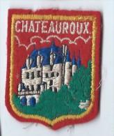 Ecusson Tissu/Ville De Châteauroux/année 80    ET54 - Ecussons Tissu