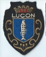Ecusson Tissu/Ville DeLuçon/année 80    ET63 - Ecussons Tissu