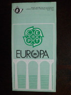 Folder Postzegeluitgifte: EUROPA CEPT 1984 Bruggen / Stamp Bulletin: EUROPA CEPT 1984 Bridges - Timbres