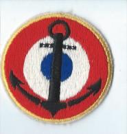 Ecusson Tissu/Marine Française/année 80    ET51 - Ecussons Tissu