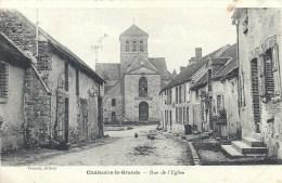 ILE DE FRANCE - 77 - SEINE ET MARNE - CHALAUTRE LA GRANDE - Rue De L'église - Andere Gemeenten
