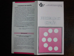 Folder Postzegeluitgifte: Europalia 1985 Spanje / Stamp Bulletin: Europalia 1985 Spain Espana - Autres Livres