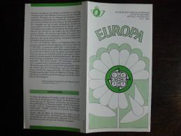 Folder Postzegeluitgifte: EUROPA CEPT 1986 Bescherming Van Natuur En Leefmilieu  / Stamp Bulletin: Nature Protection - Autres Livres
