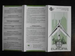 Folder Postzegeluitgifte: EUROPA CEPT 1987 Gebouwen / Stamp Bulletin: EUROPA CEPT 1987 Buildings - Autres Livres