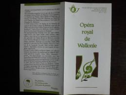 Folder Postzegeluitgifte: Muziek - Opera / Stamp Bulletin: Music - Opera - Autres Livres
