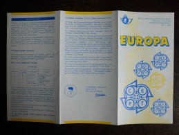 Folder Postzegeluitgifte: EUROPA CEPT 1988 / Stamp Bulletin: 1988 EUROPA CEPT - Timbres