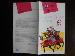 Folder Postzegeluitgifte: Europalia 89 Japan / Stamp Bulletin: Europalia 89 Japan - Autres Livres
