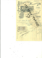 78 - Yvelines - LIMAY - Facture BONNARDEL - Distillerie - Vins Et Spiritueux – 1915 - REF 28H - France