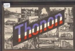 THONON LES BAINS - MULTIVUE - TB - Thonon-les-Bains