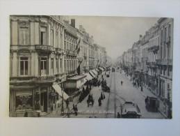 Cpa/pk Louvain Leuven Rue De La Station Bertels Quo Vadis Cigares 1906 - Leuven