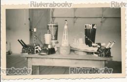 P64 - ETN 48 Marine - Exposition D'objets Artisanaux - Photo Ancienne - Guerra, Militares