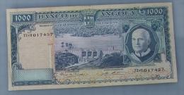 Angola  - Billet Circulé  1.000  Escudos   10/06/1970   Petit Prix  Défauts** - Angola