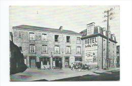 50/ MANCHE... DUCEY. Carte De Visite 12,5 X 8,5 Cm, Hôtel Du Lion D'Or, Mme Bernardin - Ducey