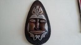 Masque  Africain  Décoré Main - Art Africain