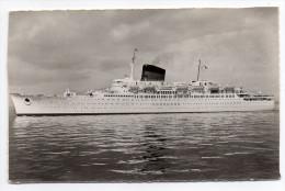 """Bateau--Paquebot """"ANTILLES""""--Cie Générale Transatlantique ,cpsm 14 X 9  éd Estel - Steamers"""