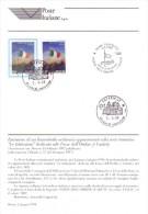 Italia 1998 - Bollettino Caduti Forze Dell´Ordine Con Francobollo E Annullo FDC - 6. 1946-.. República