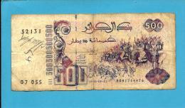 ALGERIA - 500 DINARS - 21/05/1992 ( 1996 ) - Pick 139 - 2 Scans - Argelia