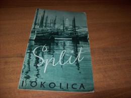 Old Travel Guide - Croatia, Split - Seizoenen En Feesten
