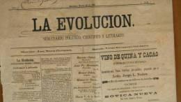 BP46 CUBA SPAIN NEWSPAPER ESPAÑA 1890 LA EVOLUCION 23/03/1890 MARIANAO - Revistas & Periódicos