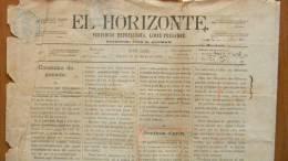 BP43 CUBA SPAIN NEWSPAPER ESPAÑA 1886  EL HORIZONTE 18/05/1886 SANTA CLARA - Magazines & Newspapers