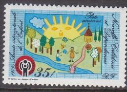 NEW CALEDONIA, 1979 IYC 1 MNH - New Caledonia